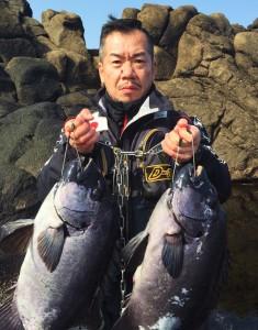 石鯛61センチ4.2キロ~(鴨瀬:辻さん)