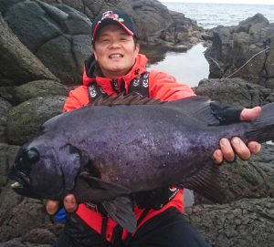 石鯛とクロの釣果(12月20日)