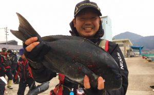 年末釣り納め釣果(12月30日)