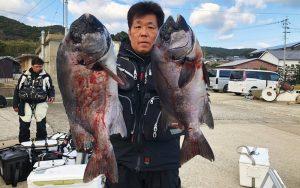 クロ釣りシーズン終盤、春磯釣果